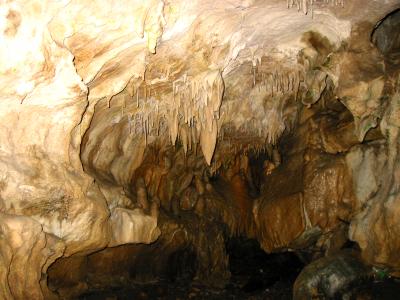 洞内の鍾乳石や生成物は、荒らされていないため見事な景観が見られます。