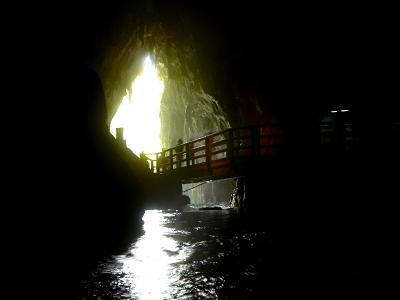 入り口の洞口から再び外へ。