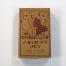 JOHN HENRY'S STUDY