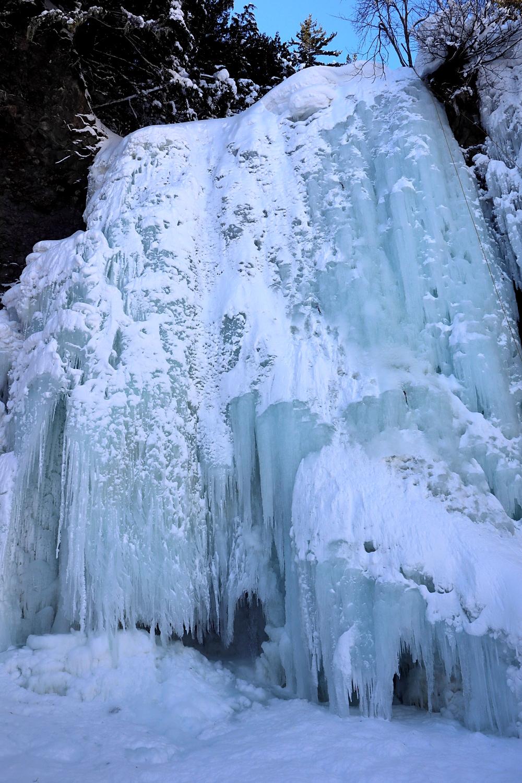真冬の善五郎の滝(2月)